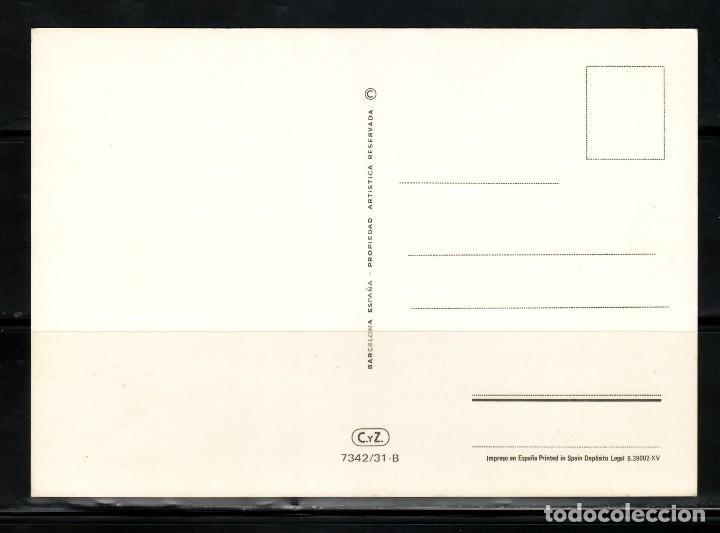 Postales: POSTAL ILUSTRADA CHICA EN CONCHA DIBUJANTE ARIAS. B - Foto 2 - 257528675