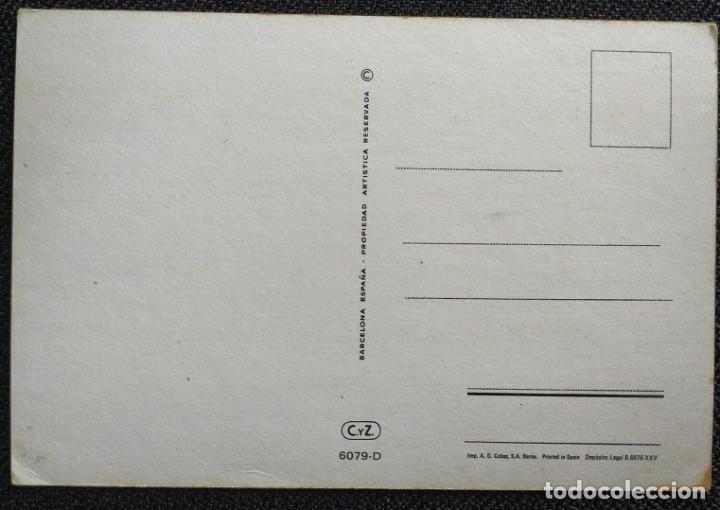 Postales: 2086K - CONSTANZA -EDICIONES CyZ SERIE 6079.D - 15X10 CM - Foto 2 - 261903365