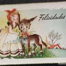 Postales: 0718S - OSCAR DANIEL (NIUBÓ) -EDICIONES CYZ SERIE 541.A- DATA 1954. Lote 261977585