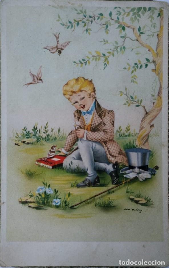 0739S - M.R.G -EDICIONES JBR. SERIE 202 - DATA 1955 (Postales - Dibujos y Caricaturas)