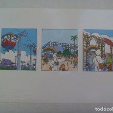 Postales: COLECCIONISMO EXPO´92 DE SEVILLA : POSTAL DE LAS AVENTURAS DE CURRO. Lote 262982760