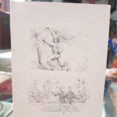 Postales: ANTIGUA POSTAL ROMANTICA CUENTOS DE ANDERSEN LA CAJA DE YESCA. Lote 263012090