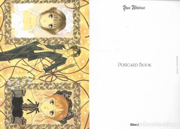 Postales: Post card book de YUU WATASE. Ed. Glénat. 16 postales - Foto 2 - 263177805