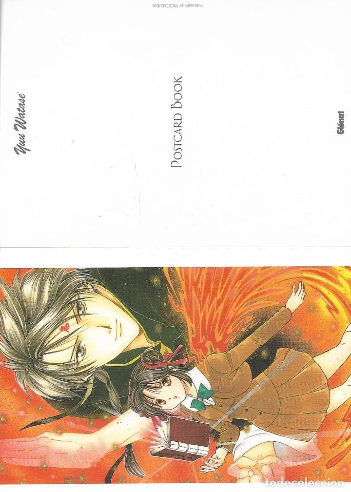 Postales: Post card book de YUU WATASE. Ed. Glénat. 16 postales - Foto 4 - 263177805