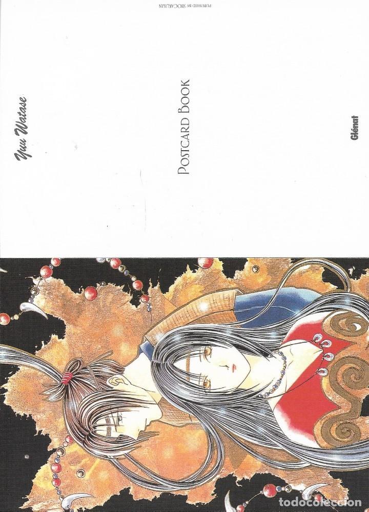 Postales: Post card book de YUU WATASE. Ed. Glénat. 16 postales - Foto 6 - 263177805