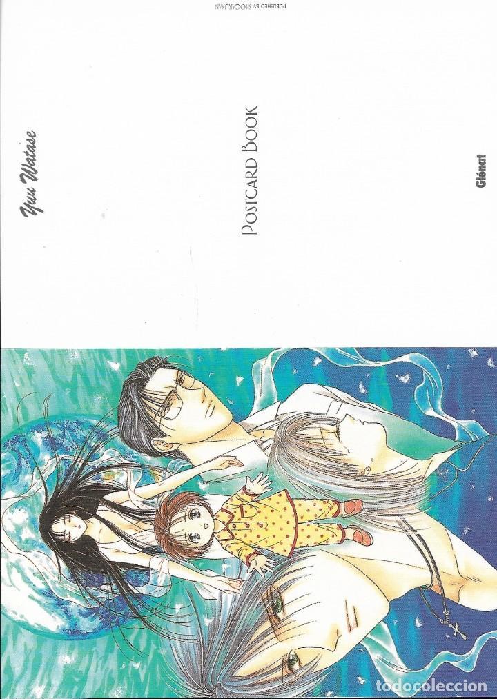 Postales: Post card book de YUU WATASE. Ed. Glénat. 16 postales - Foto 7 - 263177805