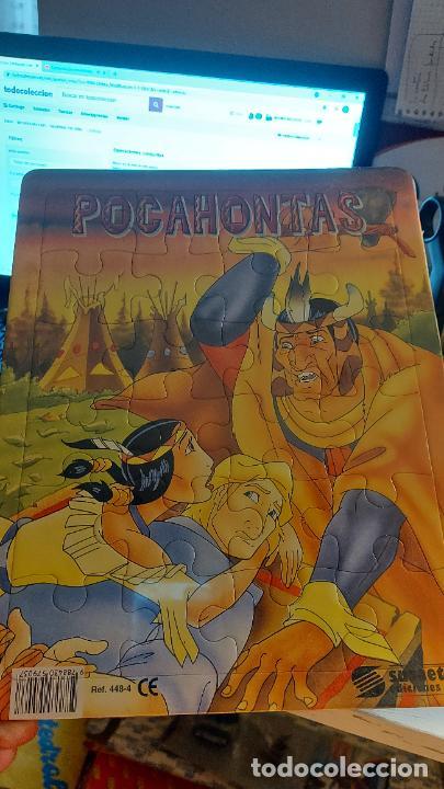 PUZLE DE POCAHONTAS EDICIONES SUSAETA (Postales - Dibujos y Caricaturas)