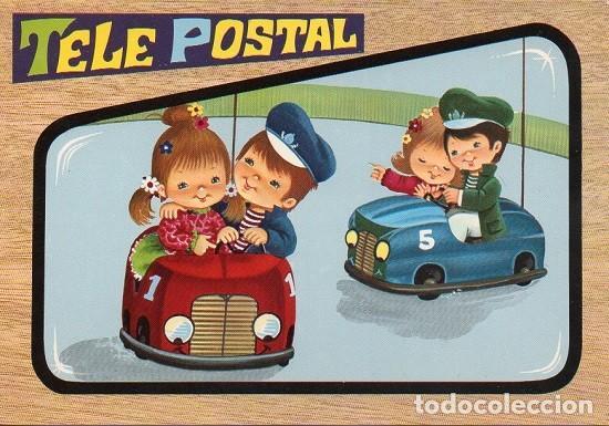TELE POSTAL (Postales - Dibujos y Caricaturas)