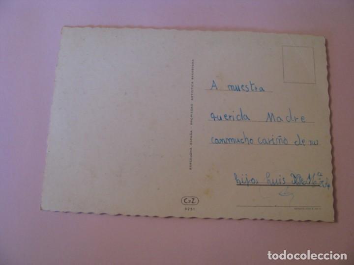 Postales: POSTAL DE FLORES. ED. C. Y Z. 6251. ESCRITA. - Foto 2 - 263269295