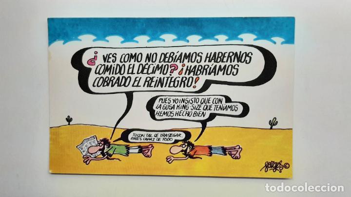 POSTAL FORGES LOTERÍA NAVIDAD, FNMT, SERIE G Nº 3 (Postales - Dibujos y Caricaturas)