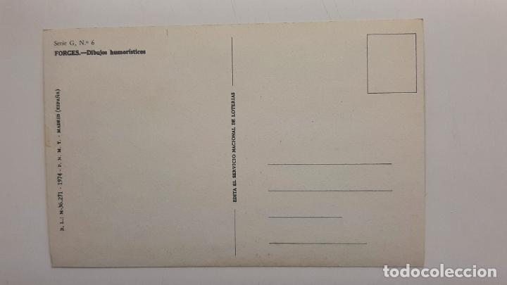 Postales: Postal Forges Lotería Navidad, FNMT, Serie G nº 6 - Foto 2 - 263622905