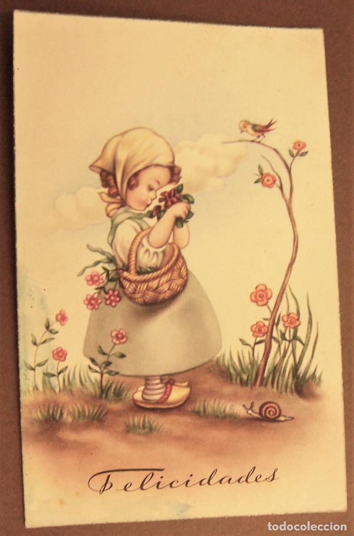 POSTAL EDICIONES C Y Z SERIE 546 (Postales - Dibujos y Caricaturas)