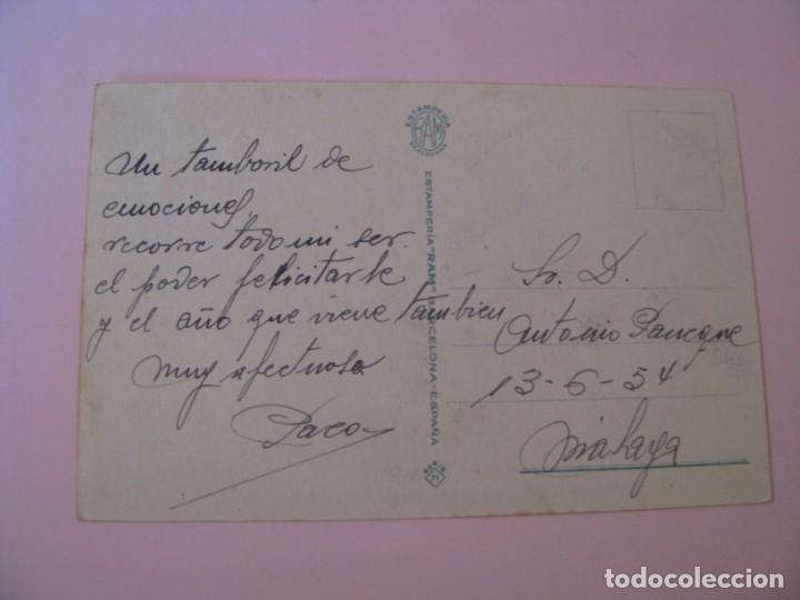 Postales: POSTAL CARICATURA DE IL. CELMA. ESTAMPERIA RAM. SERIE 71. ESCRITA 1954. - Foto 2 - 263696325