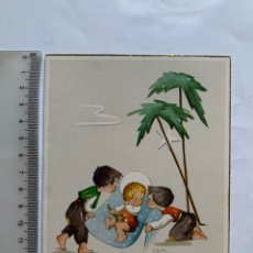 Cartes Postales: FELICITACIÓN NAVIDAD. DIPTICO. ILUSTRACION CLOTI. L. T.. Lote 264078320