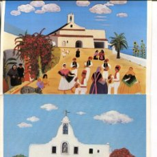 Postales: LOTE 5 POSTALES DIBUJOS NAIF- SYLVIA HUBER -AÑO 1978. Lote 264511724