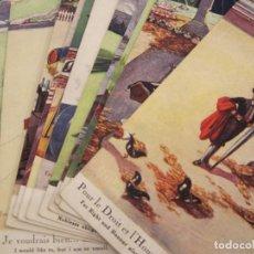 Postales: COLECCION DE 12 POSTALES ANTIGUAS ILUSTRADAS POR EM. DUPUIS-VER FOTOS-(81.194). Lote 266572723