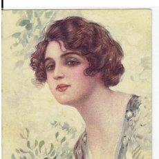 Cartes Postales: POSTAL ARTISTICA DIBUJADA, ITALIA, T.CORBELLA, PROP.ART.RISER, UFF REV.STAMPA N.6305, CIRC.S.PERDIDO. Lote 267396504