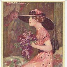 Cartes Postales: POSTAL ARTISTICA DIBUJADA, ITALIA, T.CORBELLA, DELL'ANNA GASPARINI,N.6107, SIN CIRCULAR. Lote 267397344