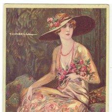 Cartes Postales: POSTAL ARTISTICA DIBUJADA, ITALIA, T.CORBELLA, STAMPA MILANO, SIN CIRCULAR. Lote 267397864