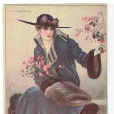 Cartes Postales: POSTAL ARTISTICA DIBUJADA, ITALIA, T.CORBELLA, DELL'ANNA GASPARINI, SIN CIRCULAR. Lote 267398079