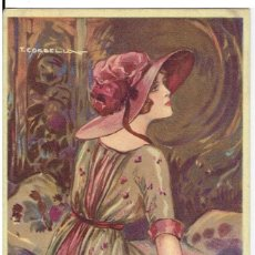 Cartes Postales: POSTAL ARTISTICA DIBUJADA, ITALIA, T.CORBELLA, STAMPA MILANO, SIN CIRCULAR. Lote 267398249