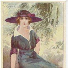 Cartes Postales: POSTAL ARTISTICA DIBUJADA, ITALIA, T.CORBELLA, STAMPA MILANO, SIN CIRCULAR. Lote 267399049