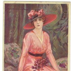 Cartes Postales: POSTAL ARTISTICA DIBUJADA, ITALIA, T.CORBELLA, STAMPA MILANO, SIN CIRCULAR. Lote 267399184