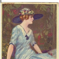 Cartes Postales: POSTAL ARTISTICA DIBUJADA, ITALIA, T.CORBELLA, STAMPA MILANO, SIN CIRCULAR. Lote 267399294