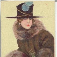 Cartes Postales: POSTAL ARTISTICA DIBUJADA, ITALIA, NANNI, UFF, STAMPA MILANO, SIN CIRCULAR. Lote 267520984