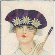 Cartes Postales: POSTAL ARTISTICA DIBUJADA, ITALIA, NANNI, UFF, STAMPA MILANO, SIN CIRCULAR. Lote 267521084