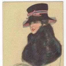 Cartes Postales: POSTAL ARTISTICA DIBUJADA, ITALIA, NANNI, UFF, STAMPA MILANO, SIN CIRCULAR. Lote 267521094