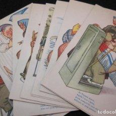 Postales: EN PEPET I LA PEPETE-COL·LECCIO DE 10 POSTALS ANTIGUES-(81.464). Lote 267659134