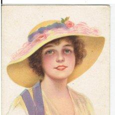 Cartes Postales: POSTAL ARTISTICA DIBUJADA, ESPAÑA, SIN CIRCULAR, ESCRITA. Lote 267828329