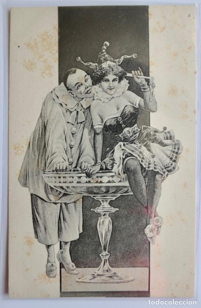 CARTE POSTALE POSTKARTE - PIERROT (Postales - Dibujos y Caricaturas)