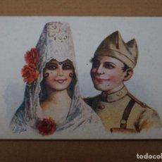 Postales: PRECIOSA POSTAL ILUSTRADA POR J.IBAÑEZ - PORTAL DEL COL·LECCIONISTA. Lote 268839904