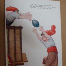 Postales: PRECIOSA POSTAL ILUSTRADA POR JIMMY - PORTAL DEL COL·LECCIONISTA. Lote 268840159