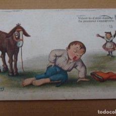 Postales: PRECIOSA POSTAL ILUSTRADA POR J.IBAÑEZ - PORTAL DEL COL·LECCIONISTA. Lote 268840264