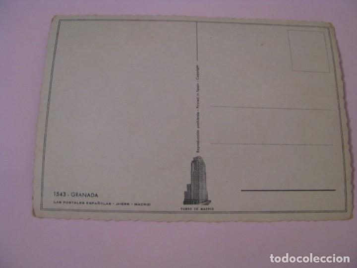 Postales: POSTAL DE IL. ELSI GUMIER. GRANADA. ED. JHERR, TORRE DE MADRID. - Foto 2 - 269067933