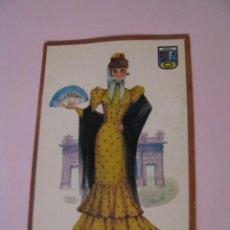 Postales: POSTAL DE MADRID. TRAJES. TIPICA. OSCAR COLOR. Nº 10. BERGAS.. Lote 269068483