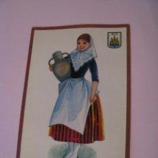 Postales: POSTAL DE IBIZA. TRAJES. TIPICA. OSCAR COLOR. Nº 6. BERGAS.. Lote 269068683
