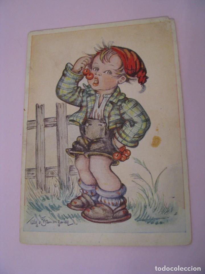 POSTAL DE ALEMANIA. IL. TILLY V. BAUMGARTEN-HAINDL. (Postales - Dibujos y Caricaturas)