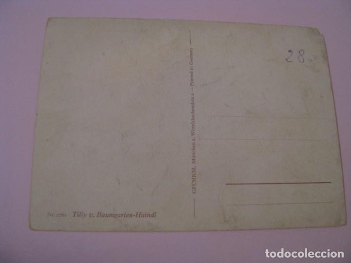Postales: POSTAL DE ALEMANIA. IL. TILLY V. BAUMGARTEN-HAINDL. - Foto 2 - 269077948
