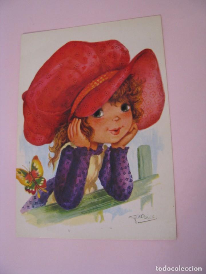 POSTAL DE IL. GRAZZIA. IMPRESO EN ALEMANIA. CIRCULADA 1983. (Postales - Dibujos y Caricaturas)