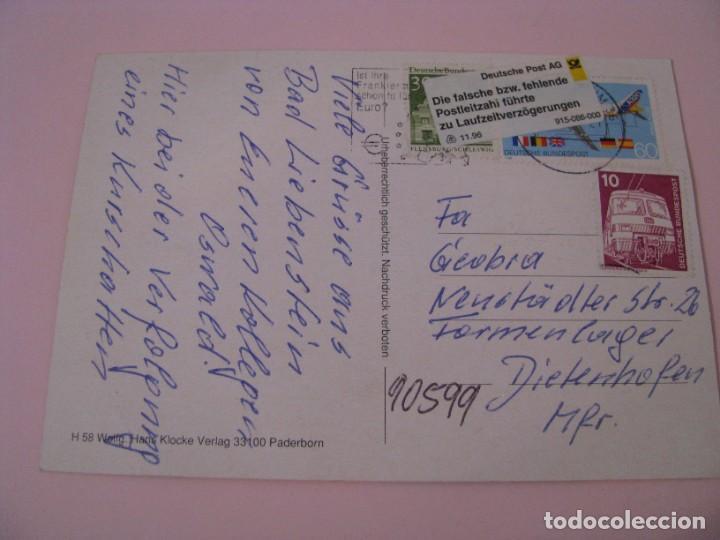Postales: POSTAL ALEMANIA. DER KURSCHATTEN. LA SOMBRA. ED. HANS KLOCKE. CIRCULADA. - Foto 2 - 269082868