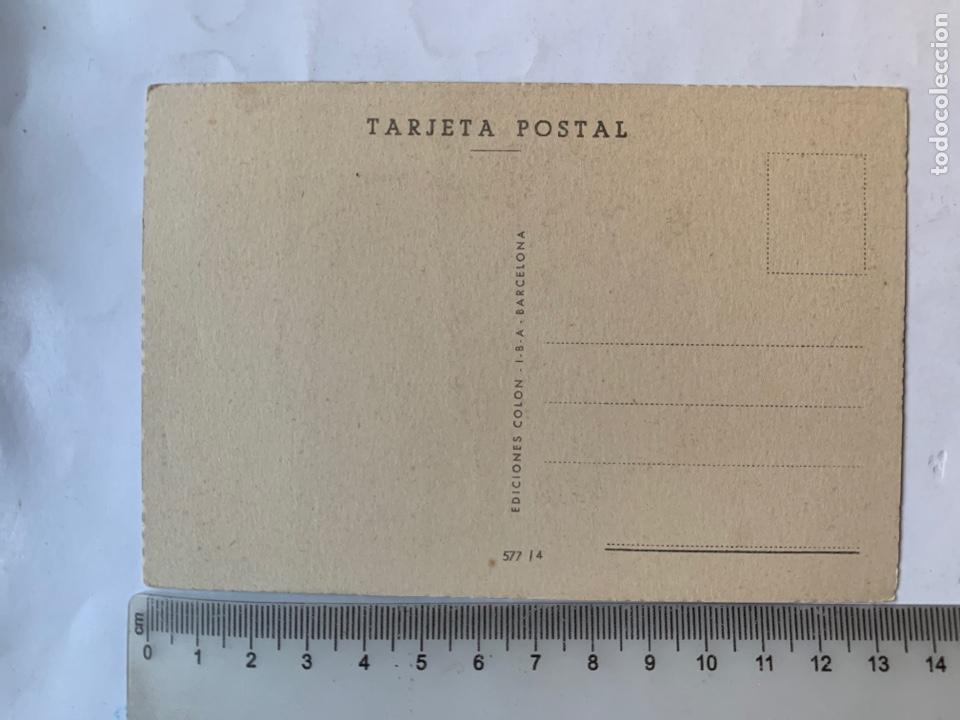 Postales: POSTAL. FELICITACIÓN. ILUSTRACION?. EDICIONES COLON. BARCELONA. - Foto 2 - 269734048
