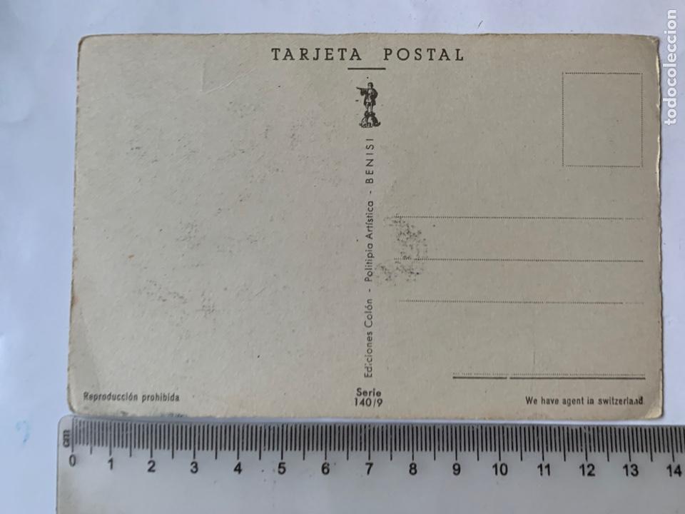 Postales: POSTAL. FELICITACIÓN. ILUSTRACION G-Q. EDICIONES COLON. BENISI. - Foto 2 - 269735648