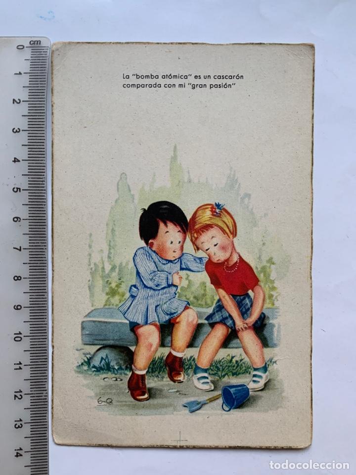POSTAL. FELICITACIÓN. ILUSTRACION G-Q. EDICIONES COLON. BENISI. (Postales - Dibujos y Caricaturas)