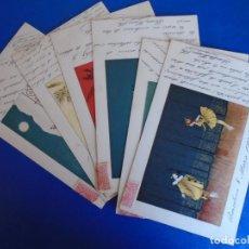 Postales: (PS-65794)LOTE DE 6 POSTALES ILUSTRADAS TEMATICA CIRCO - M.M.VIENNE. Lote 269953853