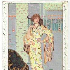 Cartes Postales: POSTAL ARTISTICA DIBUJADA, M.MUNK WIEN, , CIRCULADA SELLO PERDIDO. Lote 269993033