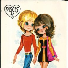 Postales: POSTAL *MARTA RIBAS*- HOROSCOPO PISCIS - ED. BERGAS 1975. Lote 272500093